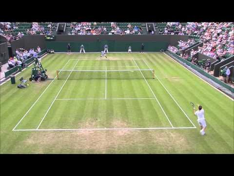 HSBC Play of the Day - Day 4, Wimbledon 2015 - YouTube