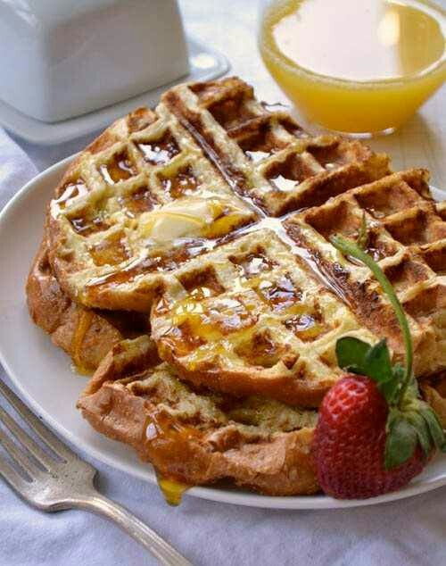 French toast waffles | Food & Drink | Pinterest