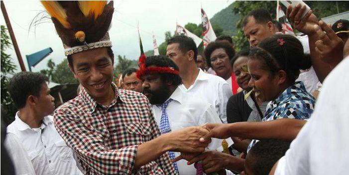 Cerita Kehidupan: Janji Kampanye Jokowi Kepada Rakyat Papua