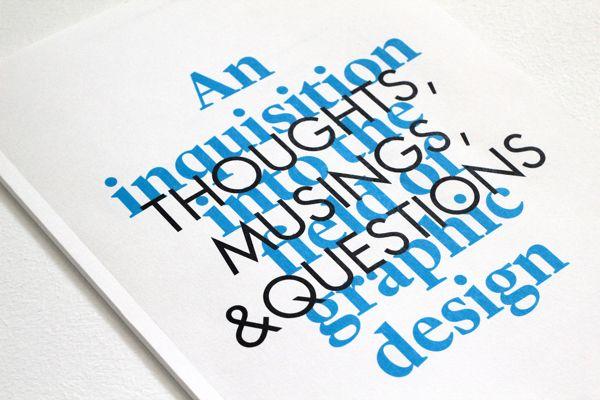 An Inquisition into The Field of Graphic Design - Khaleedah Sairi