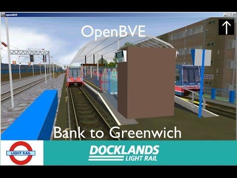 OpenBVE - Docklands Light Railway - Bank to Greenwich #DLR #Docklands #LightRail #EastLondon #Driverless #London #TFL #LondonTransport #trainsim #trainsimulation #trainsimulator #openbve #bve
