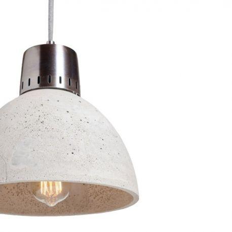 Industrialna lampa betonowa Korta o prostej, zgrabnej formie. Lampa ta polecana jako oświetlenie salonu urządzonego w stylu industrialnym. http://blowupdesign.pl/pl/lampy-betonowe-gipsowe-industrialne-loftowe-surowy-design/1741-betonowa-lampa-korta-o-niezwyklej-formie-oswietlenie-loft.html #lamps #hanginglamps #pendantlamps #lighting #industrylamps #interior #inudtrialdesign #productdesign #lampazbetonu #lampaloft