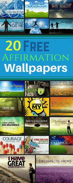 Download 20 Free Motivational Affirmation Desktop Wallpapers
