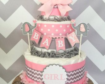 267 Best Diaper Cakes Images On Pinterest Diaper Cakes
