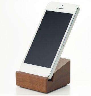 無印良品のiPhone用スタンドがナチュラル可愛い!