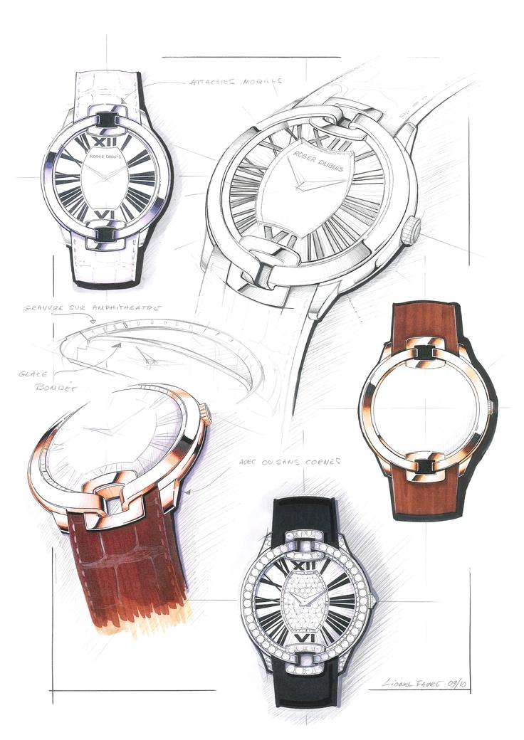 Design sketch for the Velvet collection