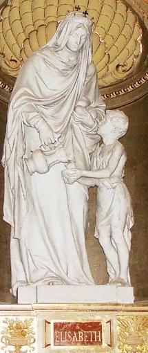 Árpádházi Szent Erzsébet Bazilika Senyei Károly munkája