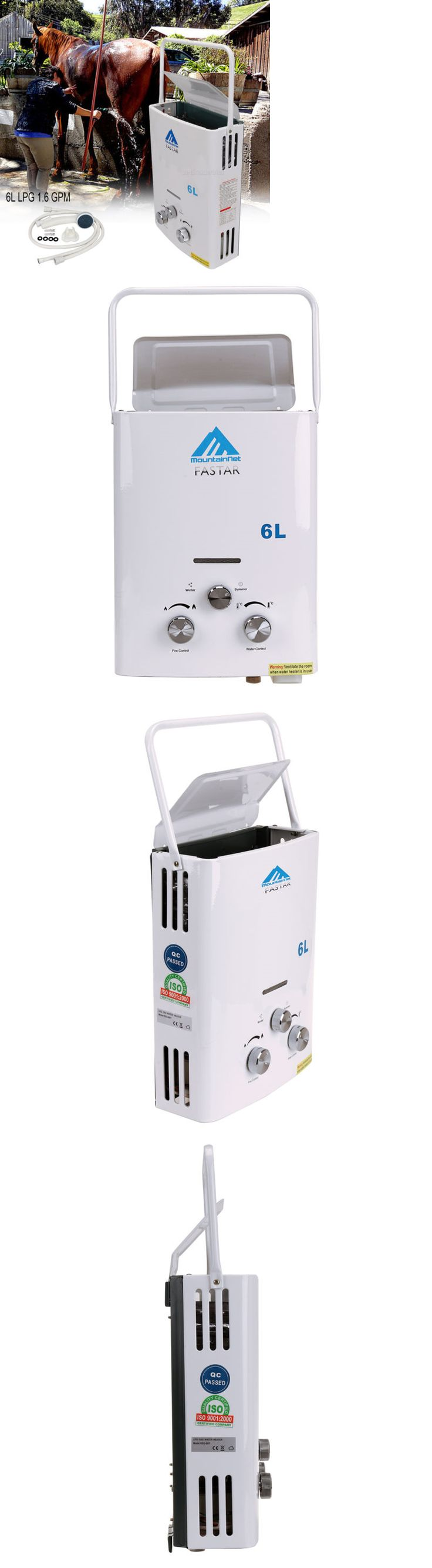 Tankless Water Heaters 115967: Portable 6L Lpg 1.6 Gpm Propane Gas Tankless Outdoor Instant Hot Water Heater Ce -> BUY IT NOW ONLY: $69.99 on eBay!