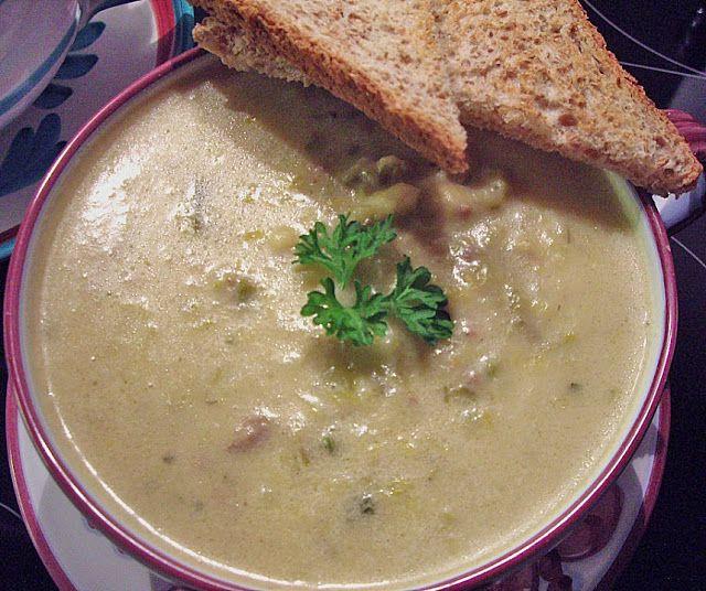25+ melhores ideias de Lauchsuppe mit hackfleisch no Pinterest - käse lauch suppe chefkoch