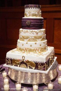 14 Best Indian Wedding Cakes Images On Pinterest