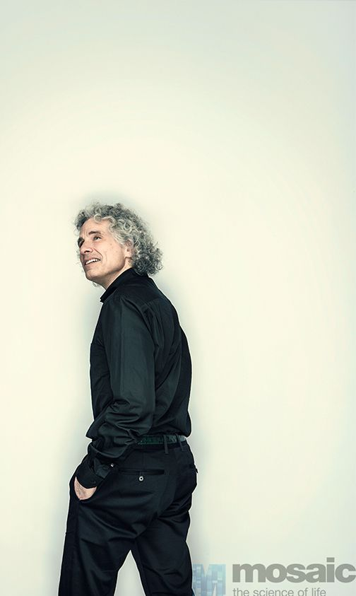 """""""I probably wouldn't have been a physicist: I'm too much of a yenta, too interested in humans."""" - Steven #Pinker. Tomorrow on http://mosaicscience.com"""