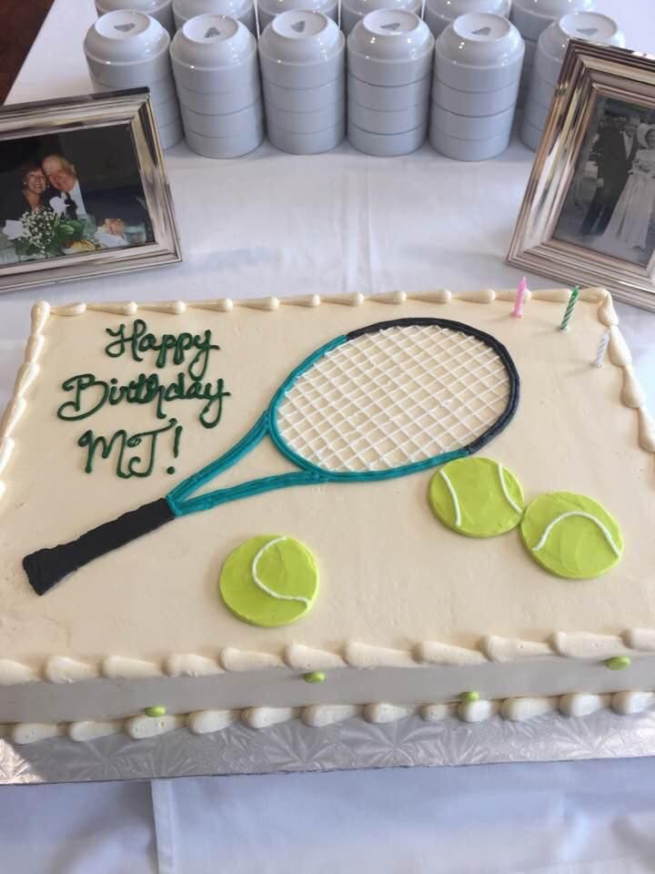Tennis Themed Birthday Cake Tennis Cake Themed Birthday Cakes Tennis Birthday
