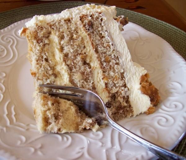 Como fazer bolo de nozes recheado