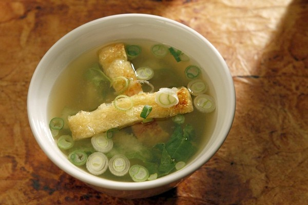miso soup with tofu and kale appetite for china miso soup with tofu ...