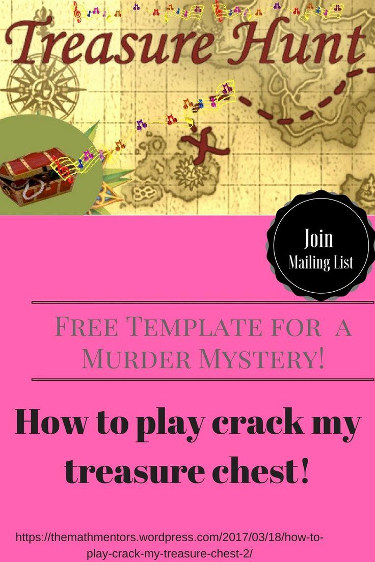 How to play crack my treasure chest  Algebra Activities Secondary Math Middle School Math Math Game Math Games 7-12 Math Teaching Ideas