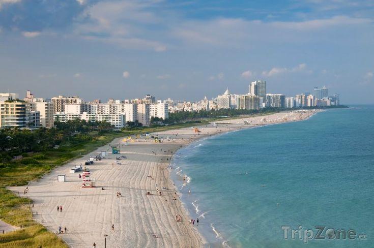 Miami Beach na Floridě (Florida)