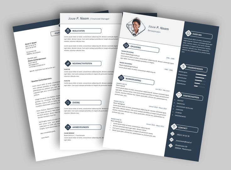 CV template 2017. Laat de lay-out van je CV pimpen en eventueel de tekst optimaliseren. www.mooicv.nl