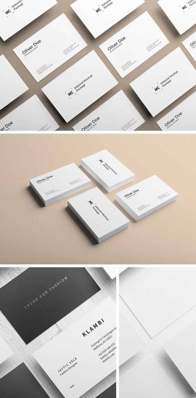Business Card Mockups Business Card Mock Up Free Business Card Mockup Business Card Template Design
