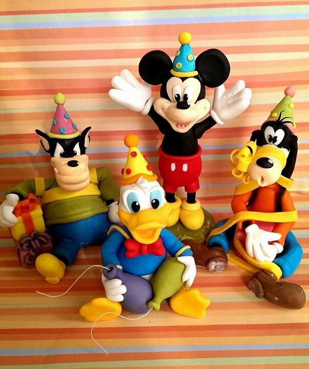 Disney cake topper mickey mouse
