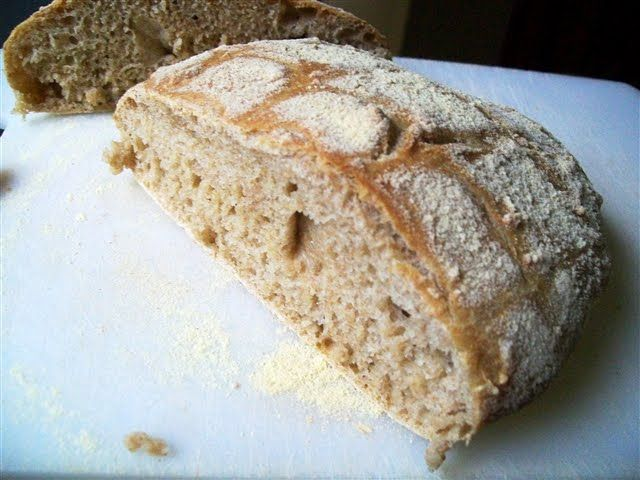 Wholemeal Spelt Artisan Bread | Quirky Cooking