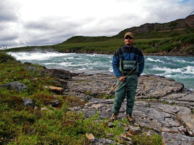 nunavut arctic char fishing
