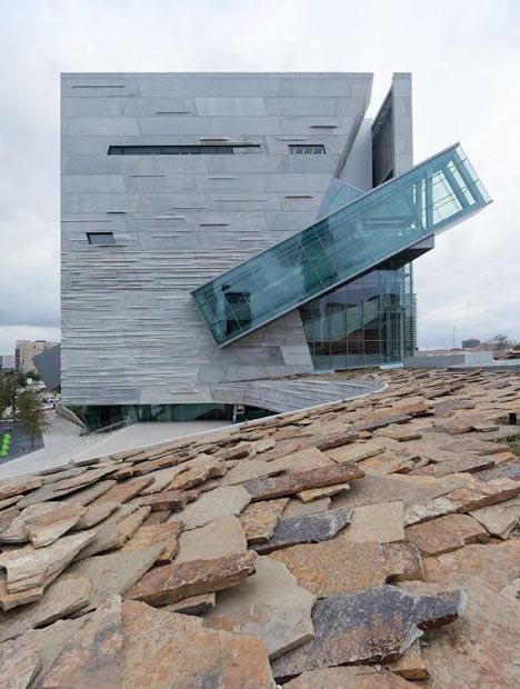 Perot Museum of Nature and Science. Morphosis 2012. Dallas, Texas