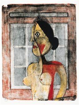 Las Mujeres : Ten prints By Rufino Tamayo