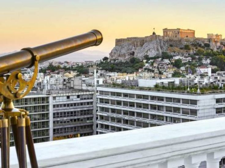 King George luxury collection hotel in Athens, Acropolis view