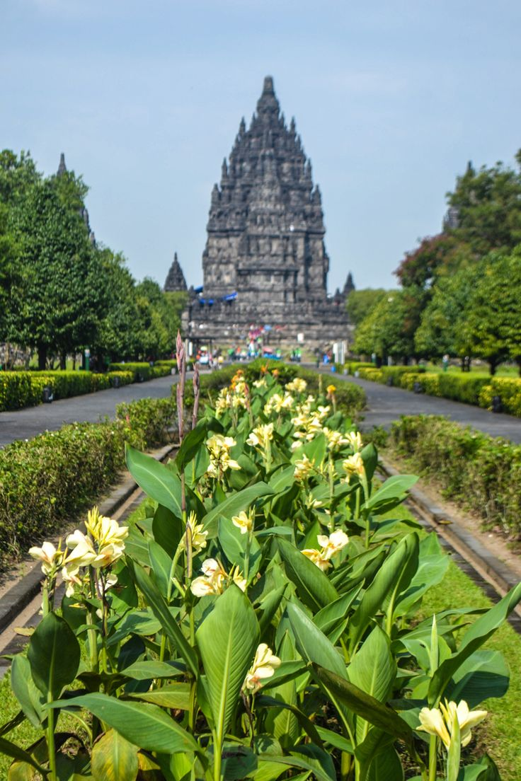 The UNESCO World Heritage Site of Prambanan - Yogyakarta, Java, Indonesia