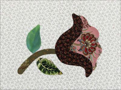 Yankee Diary Block 1:Tulip & Liberty by BeckyBrown