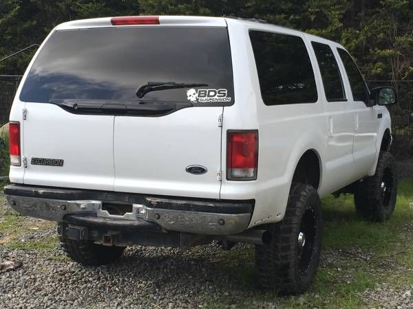2000 ford excursion limited 7.3 diesel lifted (Mckinleyville) $10500: < image 1 of 6 > 2000 ford excursion fuel: dieselodometer:…