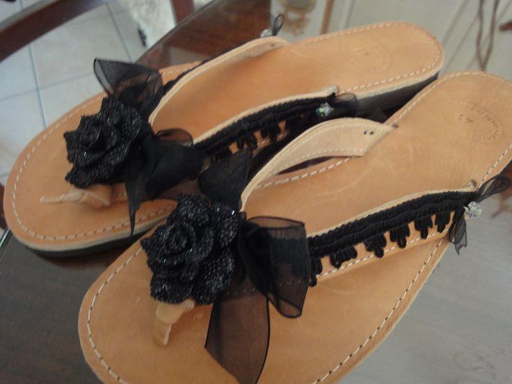 hand nade sandal's