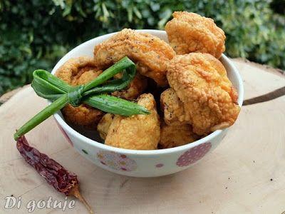 Di gotuje: Pieczarki w cieście czosnkowo-paprykowym