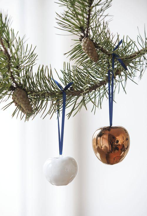 Porzellanäpfel, Weihnachten, Dekoration, KAHLA Porzellan, Winter Kollektion 2015/16