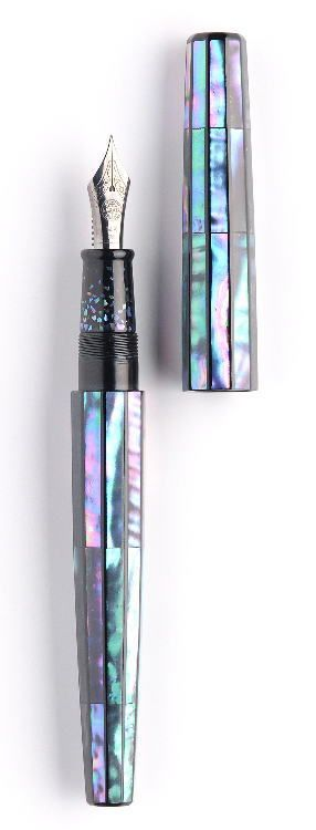 One of the prettier fountain pens I've seen.