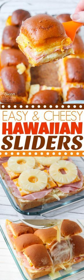 Always a crowd-pleaser!! This is our favorite Hawaiian Sliders recipe - it's our go-to game day or party appetizer. #babynutrition