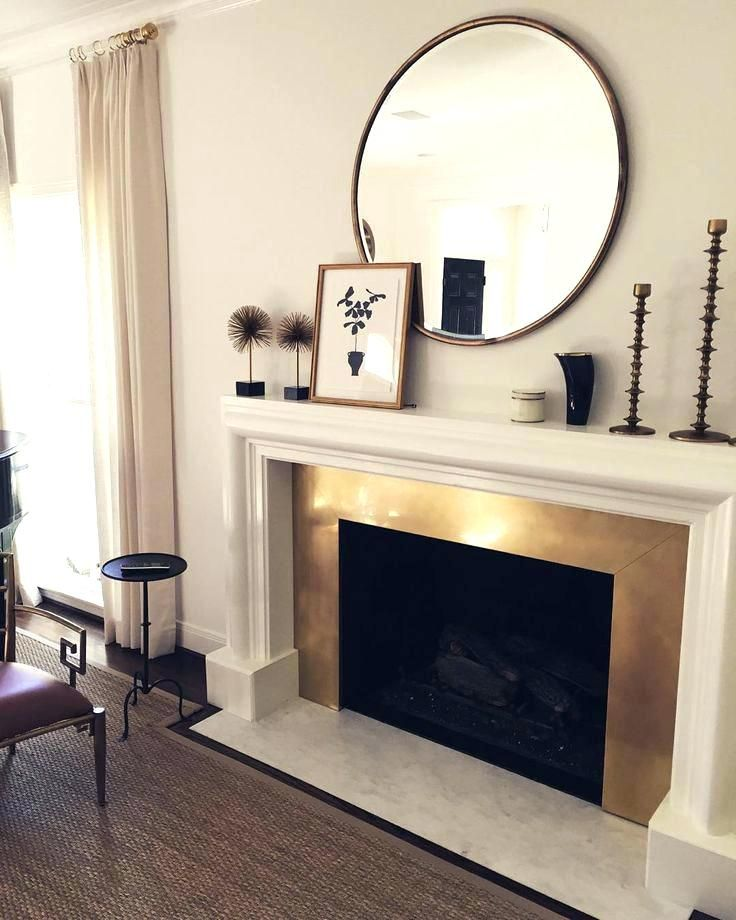 Ideas For Over The Fireplace Mirrors Over Fireplaces Best Mantle