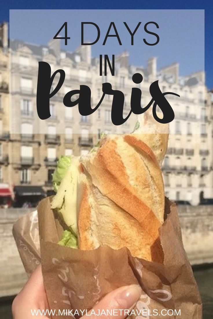 Ultimate Guide to 4 Days In Paris
