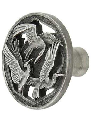 Crane Dance Cabinet Knob | House of Antique Hardware