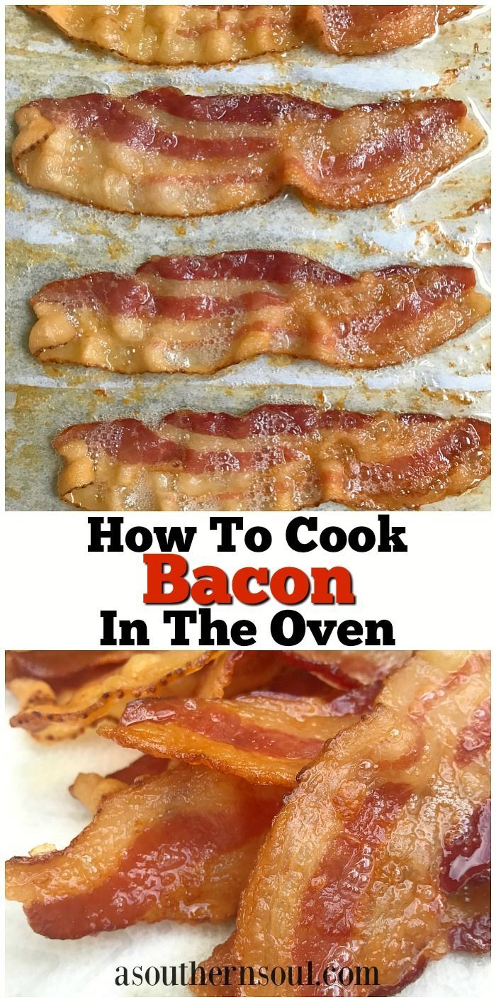 Crispy, crunchy with a smokey, slightly salty flavor, yeah…I'm talking about bacon. It can be a pain to cook and a mess to clean up.That's why we are breaking old habits and starting new ones by cooking bacon in the oven!