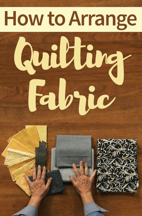 Picking out fabric and deciding on a design can be the hardest part of quilting. ZJ Humbach gives you tips for how to combine and rearrange different fabrics and quilt design elements to achieve the perfect end result.