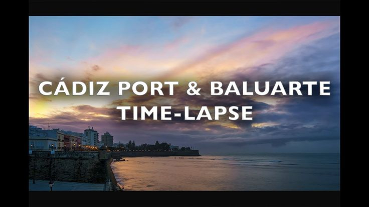 Cádiz Port and Baluarte Time-Lapse 4K/HD Royalty Free Footage