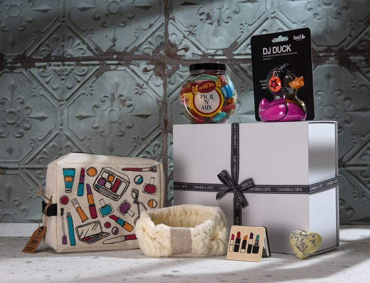 A Chill Time Hamper...A hamper filled with unique and fun gifts, perfect for any girl who loves a bit of pampering.