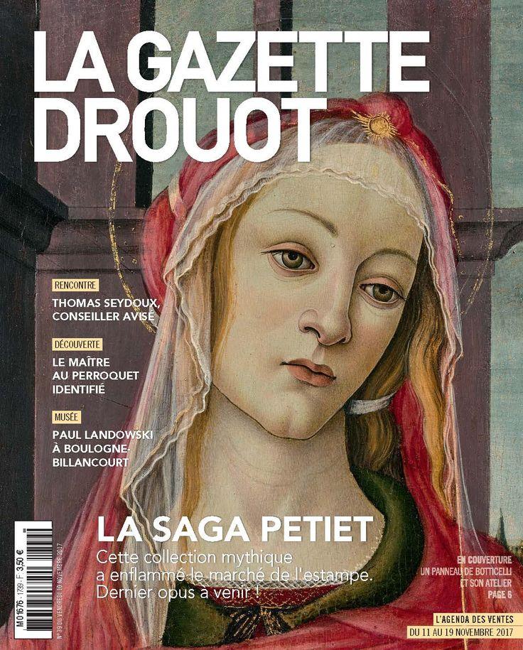 Gazette Drouot n°39 du 10 novembre 2017 #Botticelli #OldPainting #OldMastering