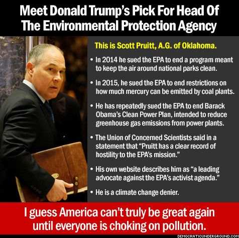 Image result for scott pruitt quotes