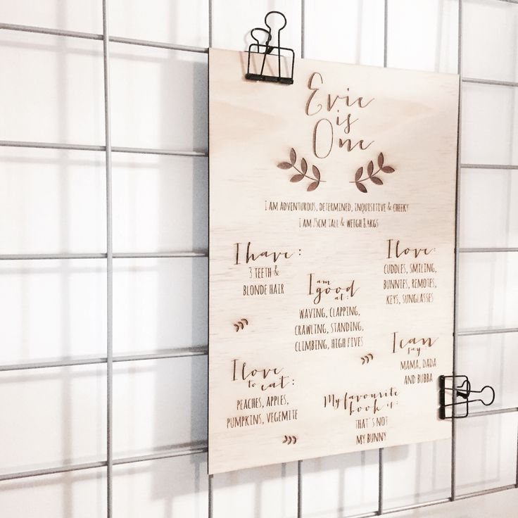 $75 + GST [GST is charged at the checkout]Birthday boards are etched into 3mm…