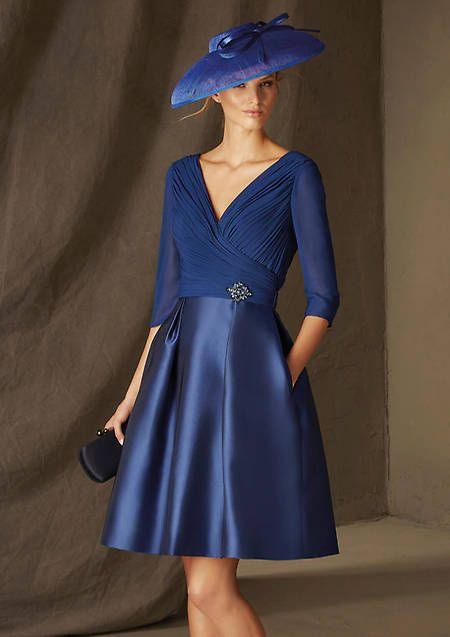 Vestido de madrina de Pronovias