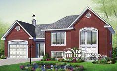 Plan de maison no. W2447-V1 de dessinsdrummond.com