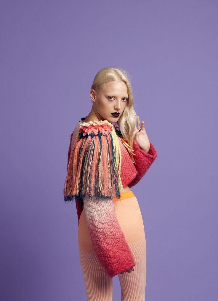 Song Bird, by RMIT University Textile Design student, Eileen Braybrook.