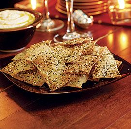 Seeded Cracker RecipeCrackers Recipe, Cooking Recipe, Yummy Foodrecipes, Seeds Crackers, Sea Salts, Fine Cooking, Appetizers, Homemade Crackers, Caraway Seeds